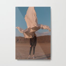 ABSTRACT DESERT Metal Print