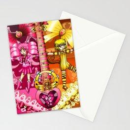 Sailor Mew Guitar #11 - Sailor Chibi Moon & Mew Pudding Stationery Cards