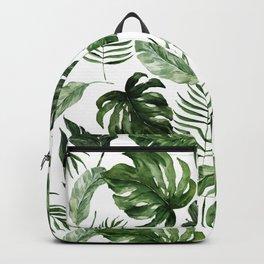 Tropical Leaf Backpack