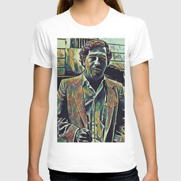 Pablo Escobar Artistic Illustration Picasso Style T-shirt