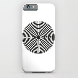 Maze 2 iPhone Case