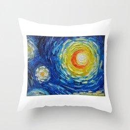 The Moon Light Throw Pillow