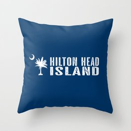 Hilton Head Island, South Carolina Throw Pillow