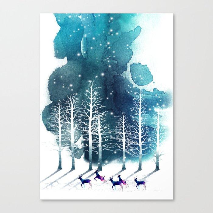 Winter Night 2 Leinwanddruck