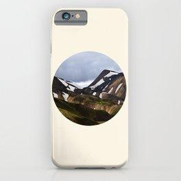 Melting Snow Mountain iPhone Case