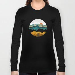 Turquoise Vista Langarmshirt
