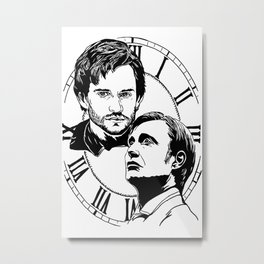 Hannigram: place in the time Metal Print