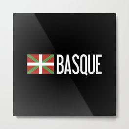 Basque Country: Basque Flag & Basque Metal Print