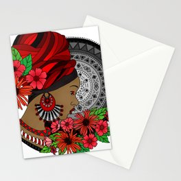 African Women Stationery Cards