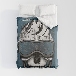 Skullorado v2 Comforters