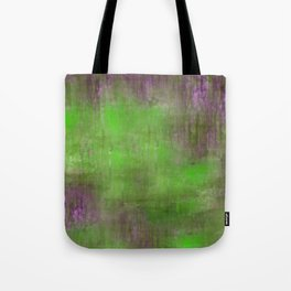 Green Color Fog Tote Bag