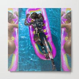 Float City Metal Print