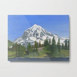 Mt Rainier, WA Metal Print
