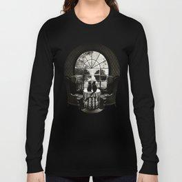 Room Skull B&W Langarmshirt