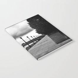 Christopher Bond Bridge from Riverside Park Notebook