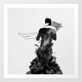 Its beautiful loving you. Art Print