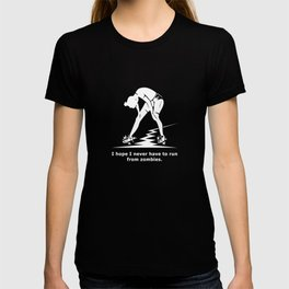 Running from Zombies T-shirt