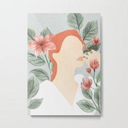 My Flower Garden Metal Print