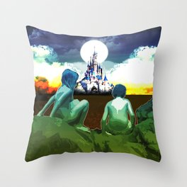 Adventure Finding Keepers Throw Pillow
