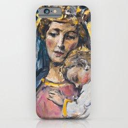 Mater Ter Admirabilis iPhone Case