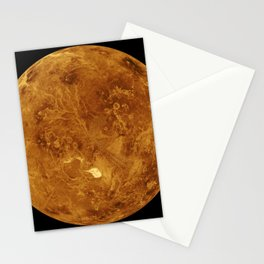 1521. The North Pole of Venus Stationery Cards