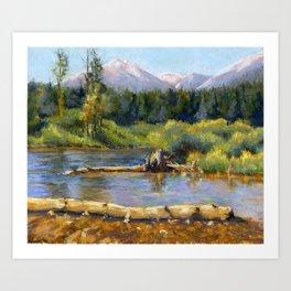 Heavenly View Art Print