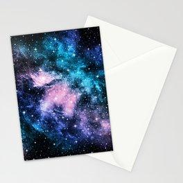 Unicorn Galaxy Nebula Dream #1 #decor #art #society6 Stationery Cards