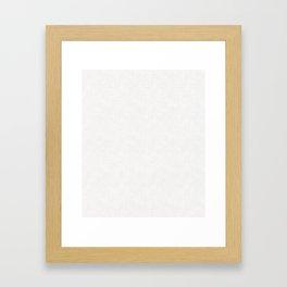 Textured white Gerahmter Kunstdruck