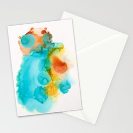 Anatomical Heart Abstract Stationery Cards