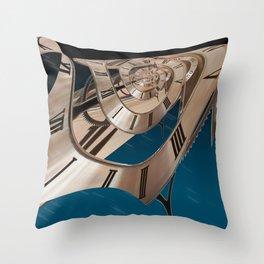 Time Warp 1 Throw Pillow