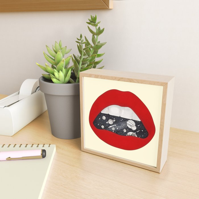 Space Framed Mini Art Print