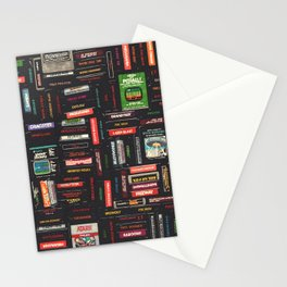 Games Stationery Cards