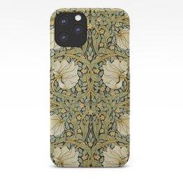 William Morris Pimpernel Art Nouveau Floral Pattern iPhone Case