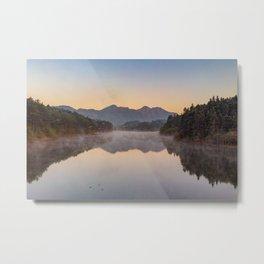 The Yellow Mountains, Anhui, China Metal Print