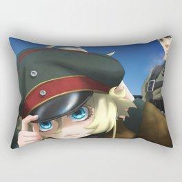 Saga of Tanya the Evil Tanya Degurechaff Rectangular Pillow