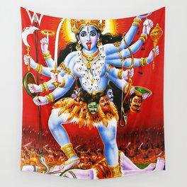 Hindu Kali 15 Wall Tapestry