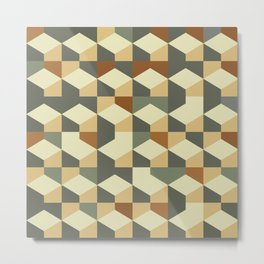 Abstract Geometric Artwork 60 Metal Print
