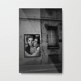 bacio kiss Metal Print