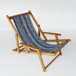 Mud Cloth Stripe Sling Chair