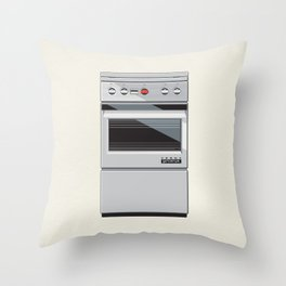 Oven Vesna - Gorenje Throw Pillow
