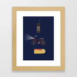 Iconic TV Shows: The One with the Upside Down Framed Art Print