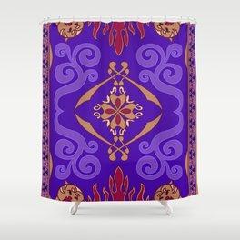 Aladdin Purple Magic Carpet Shower Curtain