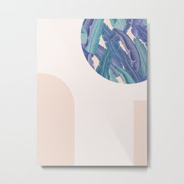 Mid-Century Candy Tropical pt.03 #society6 #tropical Metal Print