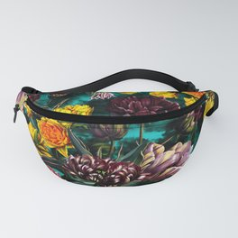 Botanical Multicolor Garden Fanny Pack