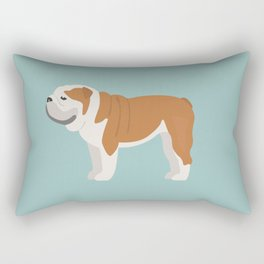 English Bulldog Rectangular Pillow