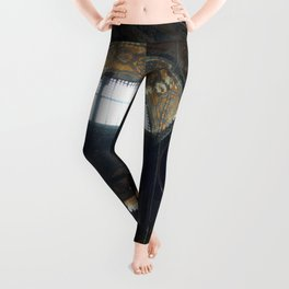 Hagia Sophia Decorated Dome and Ottoman Chandeliers Leggings