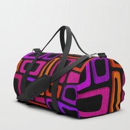 Palm Springs Nights - Modern Tiki Duffle Bag