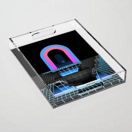 DÉTRUIT 1984 Acrylic Tray