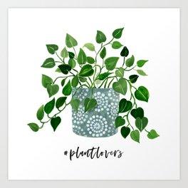 Plantlovers Art Print