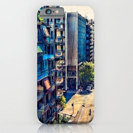 Athens street art iPhone Case